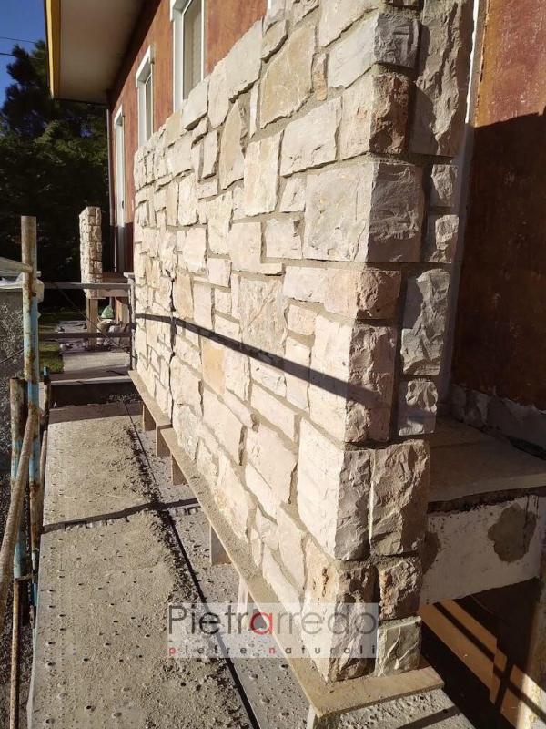 posa in opera pietra naturale retro segata credaro beige pietrarredo rustica grezza casolare offerta
