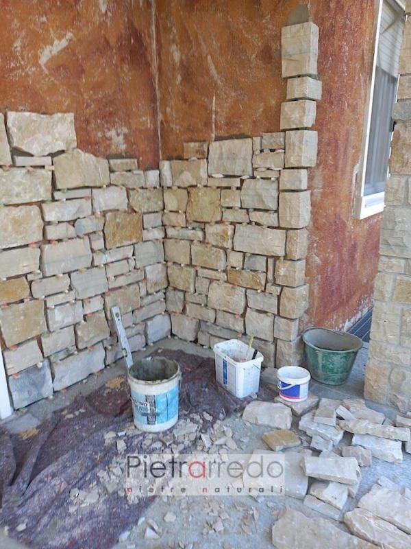 rivestimento in sasso pietra credaro grezza rustica cascina agriturismo pietrarredo milano