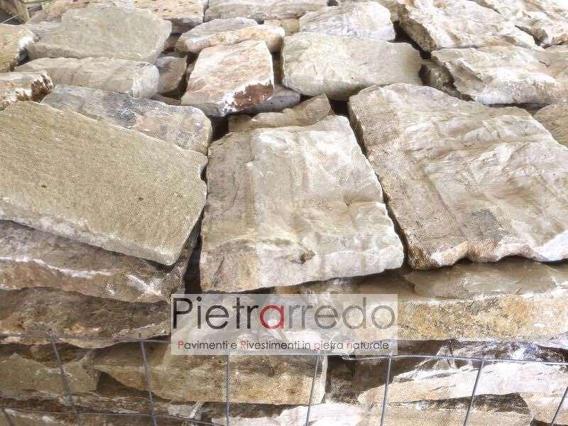rivestimento-roccia-sasso-pietra-vera-credaro-umbria-beige-blocchi-incollare-stone-panel-segata-muro-secco-costi