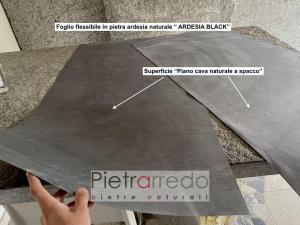 formica ardesia slate black flex sheet on sale pietrarredo milan italy price