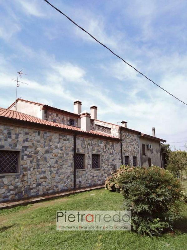 pietra ricostruita naturale geo stone panel cladding misto cascina contadino parete rustico casale agriturismo prezzo costi