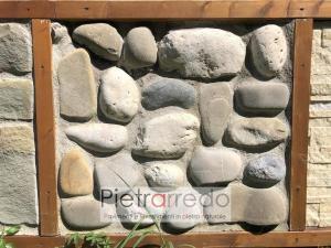 rivestimento in pietra naturale ciottolo di fiume segato cascina pietrarredo milano costo sasso segato
