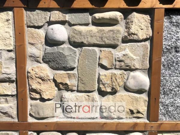 rivestimento in pietra naturale misto contadino pietrarredo placche decorative per pareti prezzi rustici