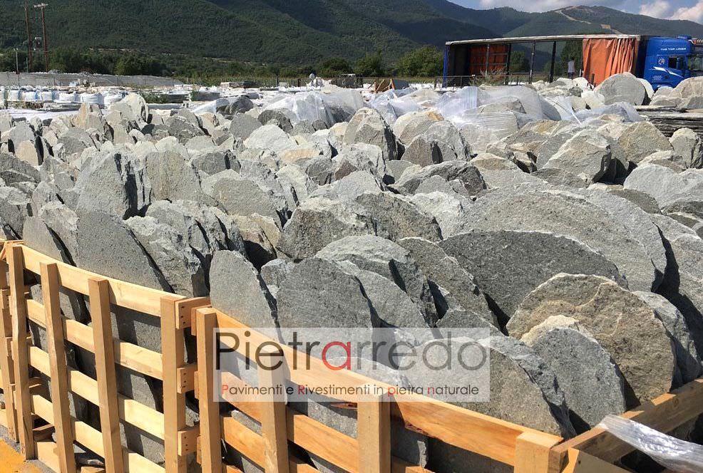 Offerta passi giapponesi da giardino in pietra vera 9 - Camminamento pietra giardino ...