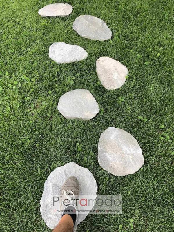 offerta passo giapponese camminamento aiuole stone garden zandobbio pietrarredo milano beola quarzite offerta prezzo
