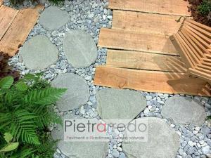 passi giapponesi in pietra naturale prezzo zen parabiago pietrarredo viali per stone garden