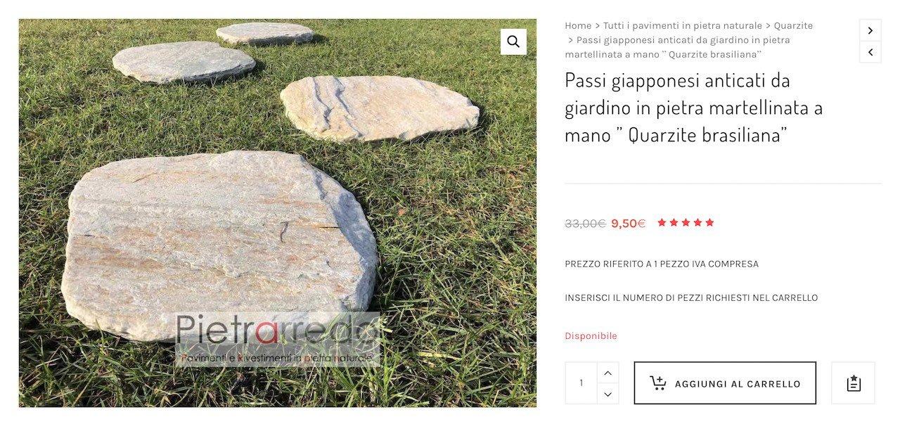 passi giapponesi zen per arredogiardino stone garden pietrarredo milano quarzite brasiliana offerta costi pietrarredo crespi bonsai parabiago