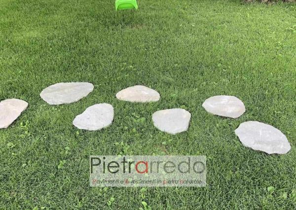 passi giappponesi quarzite grigia brasiliana offerta prezzo giardini orientali sasso stone deco garden pietrarredo milano
