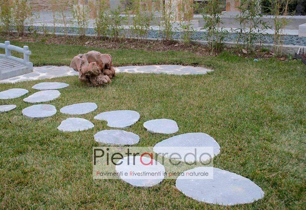 Offerta passi giapponesi da giardino in pietra vera 9 for Sassi x giardino prezzi