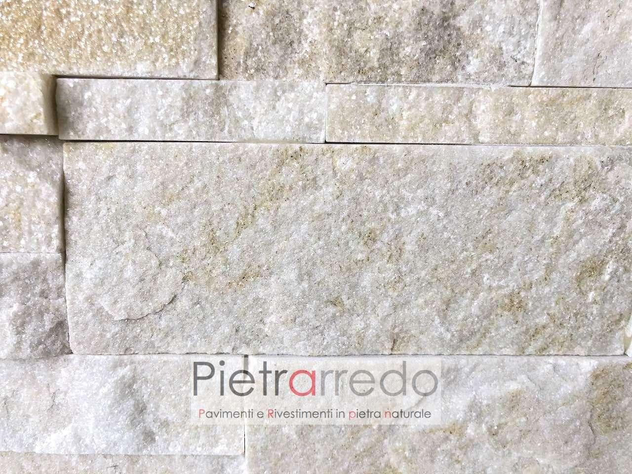 pietra tranciata a listelli placche deco stone cladding modigliani zeta incastro brillantinata pietrarredo milano costo