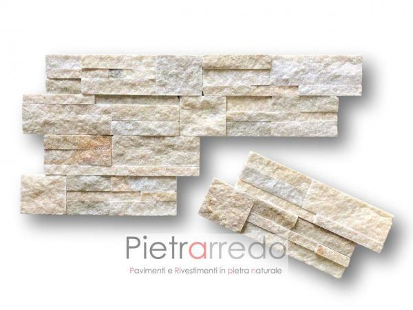 spaccatelli in saso e pietra per coprire pareti e muri decorativi bellissimi pietrarredo giallo