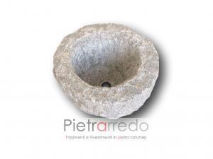 arredo giardino pietrarredo milano rotondo sasso pietra prezzo lavello grezzo rustico