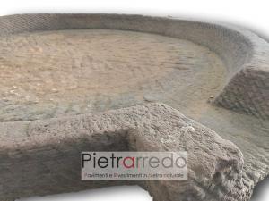 base in pietra per giardino giochi d'acqua zen giapponese prezzo costi