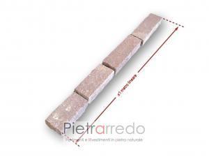binderi e blocchetti da muro in pietra porfido trentino pietrarredo prezzo costi viola bello per fontane cordoli