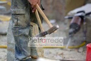 estrazione pietra luserna lavorazione cava prezzi costi pietrarredo milano