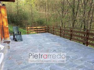 pavimento esterno pietra luserna mq prezzo palladiana mosaico latre sasso