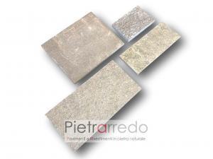 pietra luserna lati segati suadrato prezzi metro quadro offerte pietraredo milano
