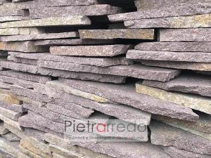 porfido sottile palladiana opera incerta mosaico viola uniforme prezzo costi offerta pietrarredo