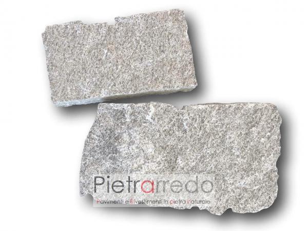 costo prezzo pavimento in pietra naturale beola grigia lastrame mosaico opera incerta pietrarredo milano