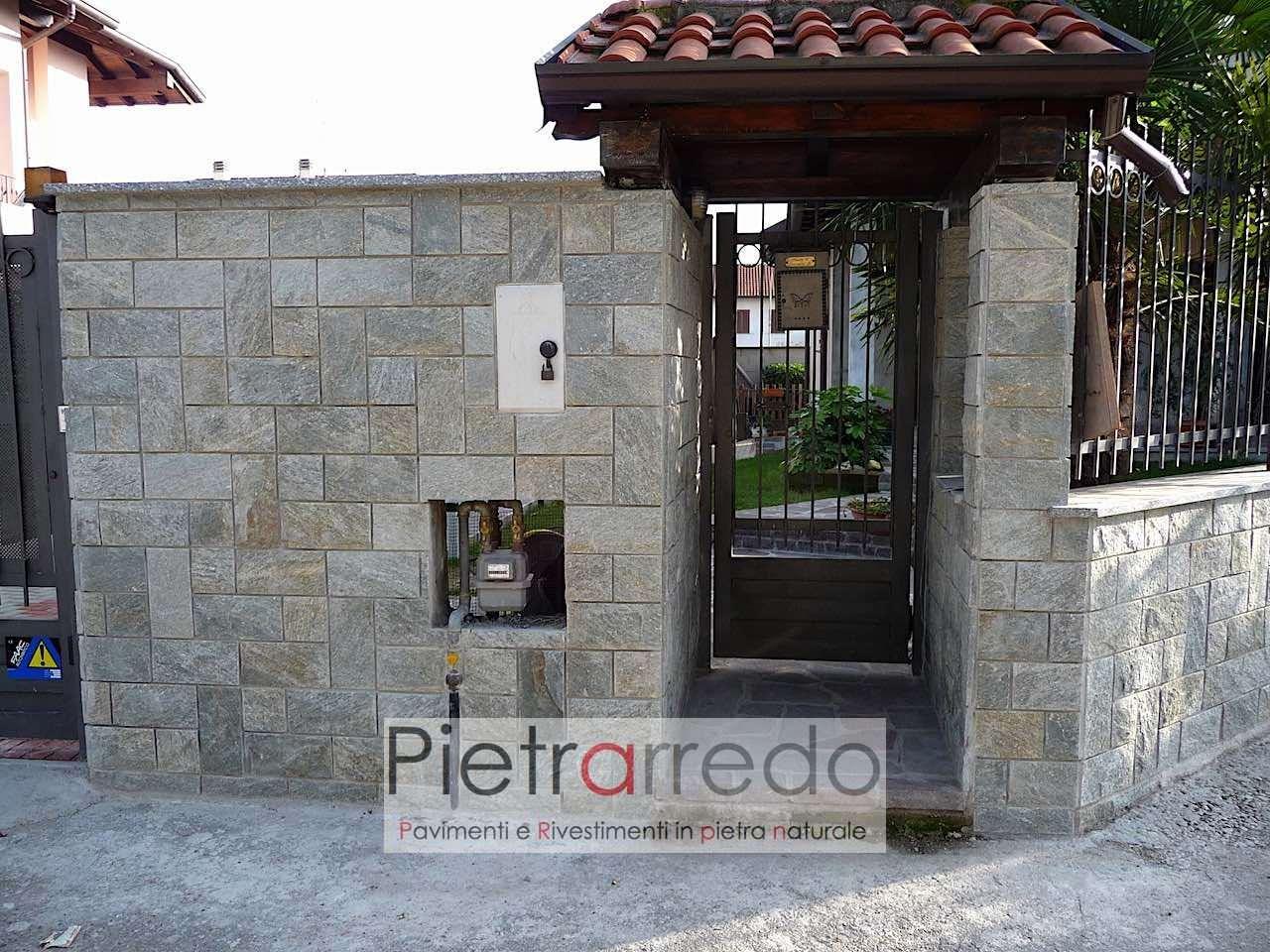 """Ingresso Casa Esterno In Pietra rivestimento in pietra """"spaccatello in pietra luserna 15cm x 31cm"""""""