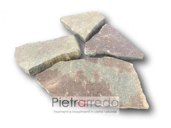 lastrame in porfido per pavimenti esterni pietra pietrarredo milano costi mq