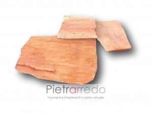 lastrame in quarzite rosa brasiliana mq pavimento parabiago offerta sconti
