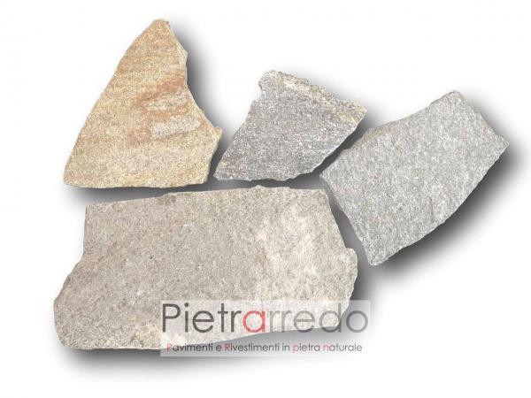 offerta opus luserna lastrame misto mosaico sottile 1-2cm costo mq