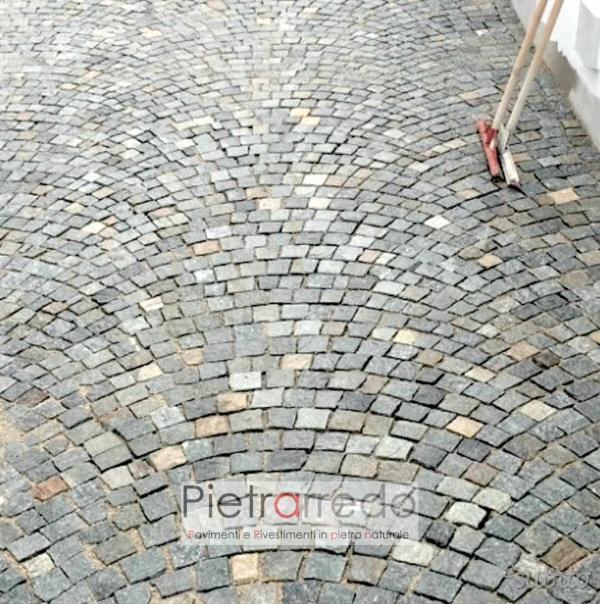 offerta pavimenti in pietra luserna cubetti bloccheti sam pietrini costi e prezzo mq milano