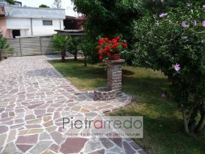 pavimento in porfido mosaico lastrame milano offerta costi palladiana opus