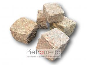 pavimento in porfido rosa granito di cuasso al monte varese costo metro prezzo offerta pietrarredo milano copia