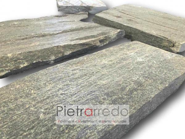 pavimento in serpentino verde pietra valmalenco valtellina prezzo costipietrarredo milano