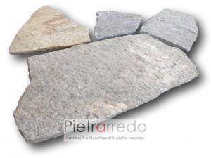prezzi metro quadro pietra luserna lastrame mosaico opera incerta mq pietrarredo milano sasso sottile
