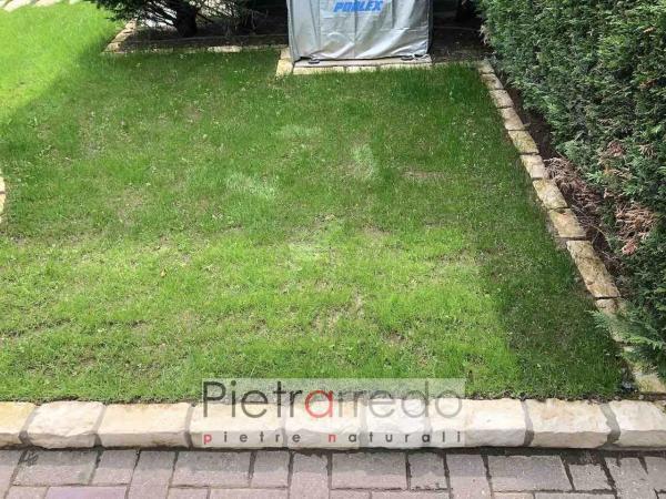 prezzi per blocchetti aiuole pietrarredo mattoncino arredo giardino bianchi prezzo