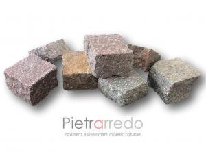 prezzo sanpietrini porfido pavimento pietra pietrarredo milano costo cubetti