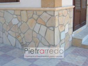 rivestimento parete in quarzite brasiliana gialla sottile palladiana 1 cm pietra pietrarredo milano prezzo costo offerte