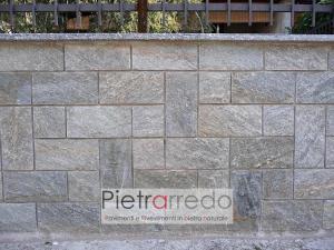 zoccolino pietra luserna battiscopa rivestimento spaccatello costi metro quadro