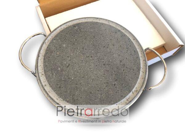 pentola tonda in pietra ollare lavica da cottura senza grassi prezzo fornello costi