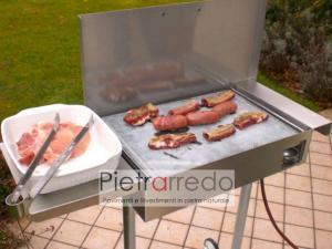 piastre e pentole in pietra lavica ollare per cucinare su fuoco carbonella grigliata offerta costi