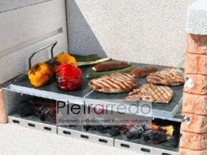 piastre in pietra lavica ollare offerta per cottura cucina sana no grasso fornello bbq offerta made in italy valtellina morbegno