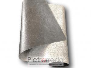 Foglio flexstone silver shine offerta costi flexibile stone veener sale price