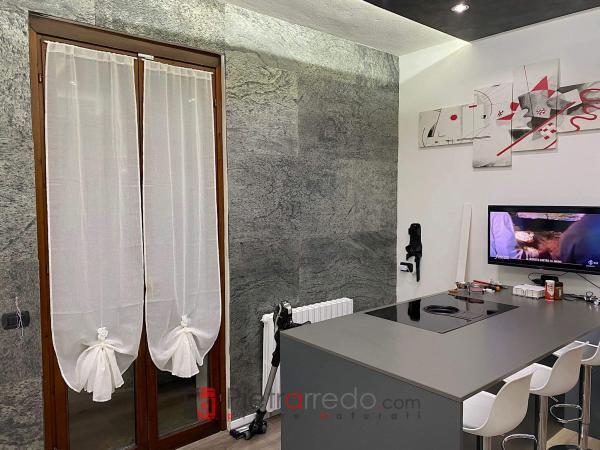 Stone sheet design pietrarredo milano wall siver price offert stone veneer india