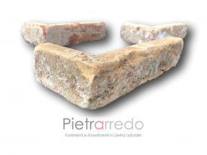 angolari mattoni in cotto anticato vecchio rustico san marco dogi prezzo costi