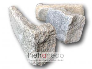 angoli in pietra luserna anticata prezzi adda pietravera bloccheti muro pareti prezzo