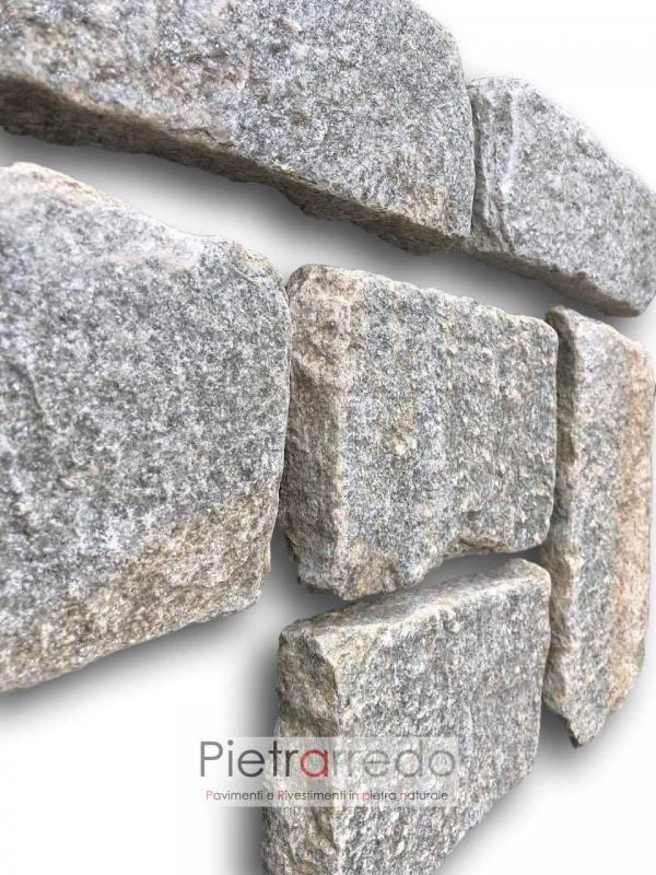 blocchetti retrosegati da muro in pietra luserna costo anticata adda schenatti airuno prezzo adda