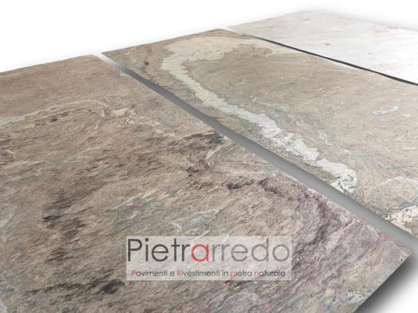 costi prezzo foglio in pietra naturale flex stone tan beige sottile