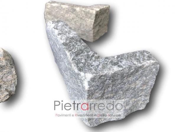 creare angoli in pietra spigoli archi sasso rivestimento luserna prezzo blocchetti tranciati morina adda