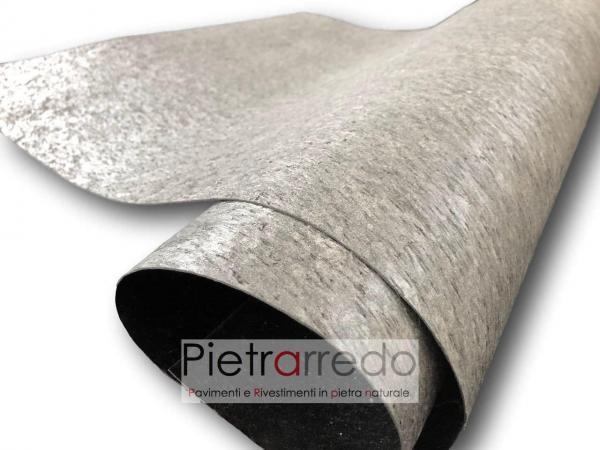 foglio impiallacciatura mobili design stone veener offerte pietrarredo silver schine offerta