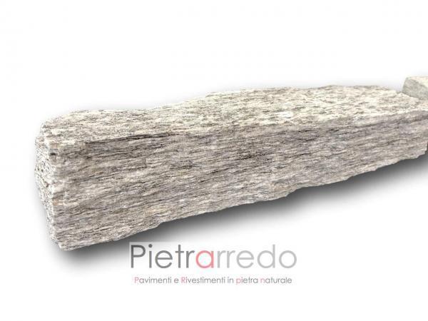 liste in pietra blocchetti binderi beola striata per fioriere arredo giardino beola costo