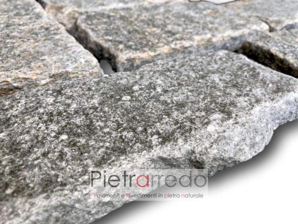 listelli blocchetti anticati pietra luserna adda la vera pietra costi prezzo parete muri
