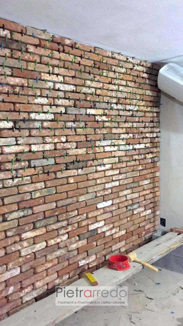 mattoni in cotto antichi vecchia cascina pietrarredo milano costo vecchie mura rivestimento